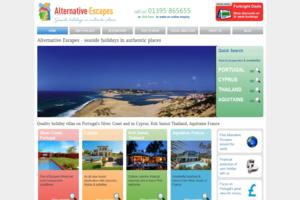 Holiday villas - Silver Coast Portual