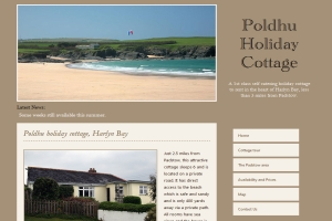 Holiday Cottage in Harlyn Bay, Padstow